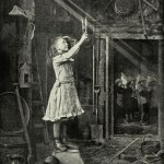 Young girl trying to cut a sunbeam (1886).jpg