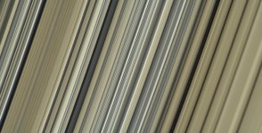 An image nasa took of Saturn's rings which are 98,600 to 105,500 km from Saturn's center). Int...jpg