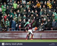 hearts-kyle-lafferty-celebrates-in-front-of-the-celtic-fans-after-KPYKKT.jpg